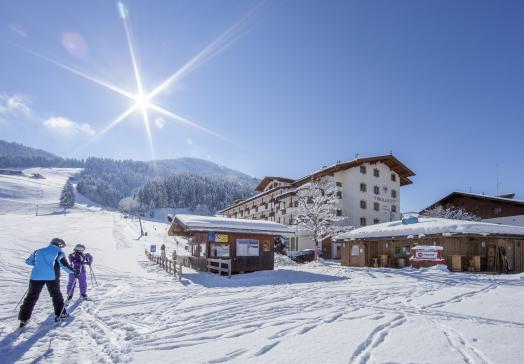 Winter in Wildschönau valley - Landhotel Tirolerhof