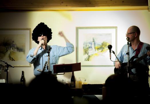 Für Unterhaltung sorgt immer wieder das Trio Tyrol