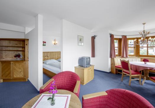 View of Apartment Wilder Kaiser in the Landhotel Tirolerhof Oberau