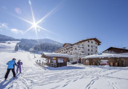 Der Tirolerhof eingebettet in die wundervolle Winterlandschaft