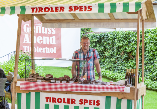 The regular Taste of Tirol takes place throughout the summer - Local farmers present their wares