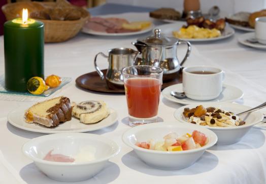 Genießen Sie das Frühstück mit Ihren Liebsten