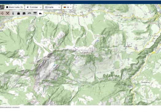 Freizeitkarte Digital Wildschönau