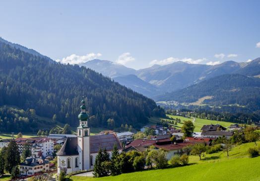 Bergkulisse rund um den Tirolerhof Oberau