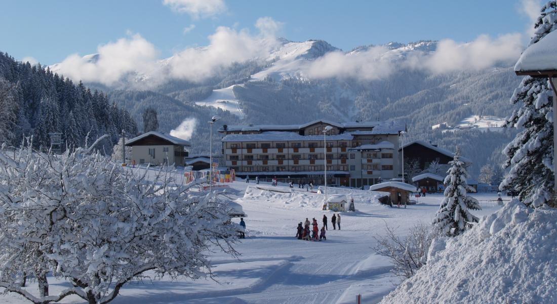 Der Tirolerhof eingebettet in eine wundervolle Winterlandschaft