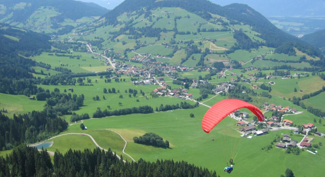 Paragliding-& High Rope Course