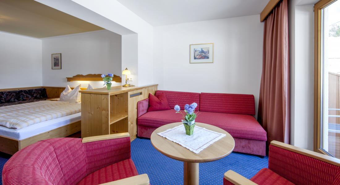 Auch die Möglichkeit eines Zusatzbettes besteht im Landhotel Tirolerhof