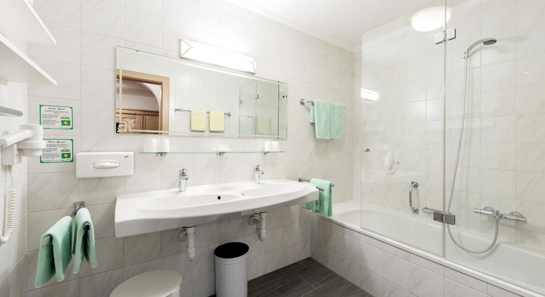 Badezimmer Appartement Wilder Kaiser