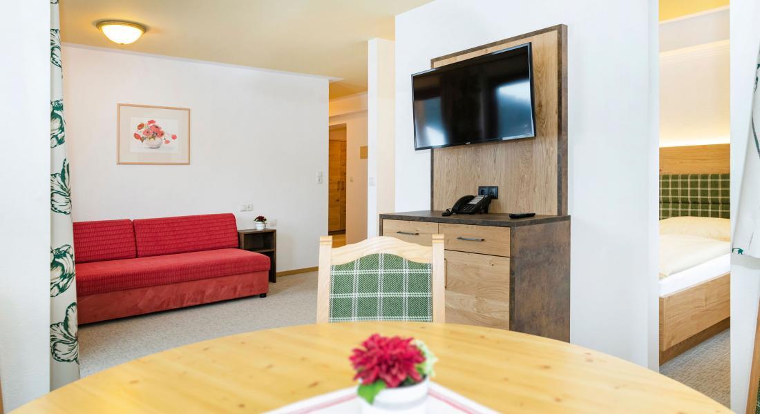 Das Appartement bietet viel Platz zum Wohnen