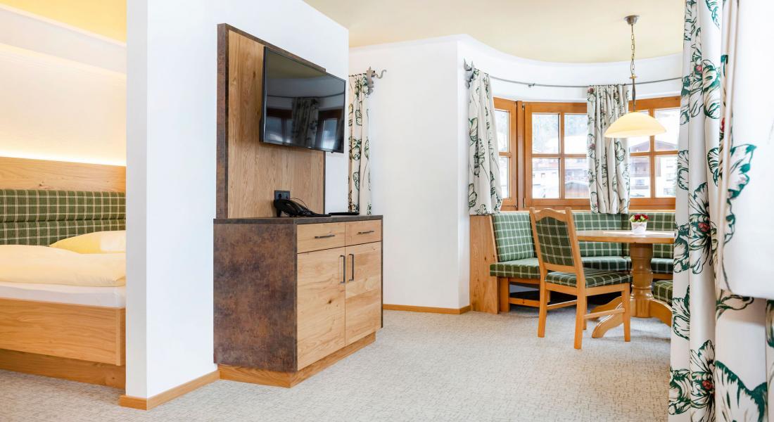 Ansicht Appartement Zauberwinkel mit Sitzerker
