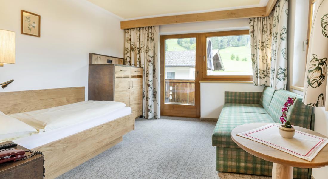 Einzelzimmer im Landhotel Tirolerhof