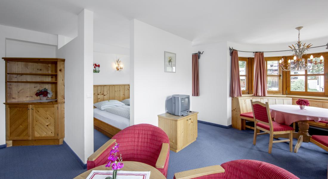 Ansicht Appartement Wilder Kaiser im Landhotel Tirolerhof