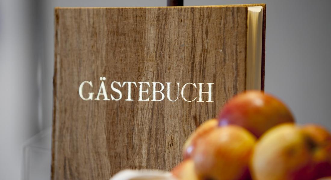 Apfel-Gästebuch