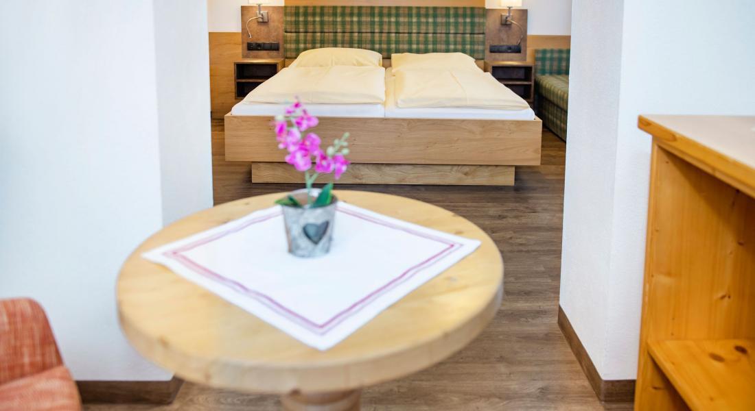 View comfort room Deluxe Evening Sun in the Hotel Tirolerhof
