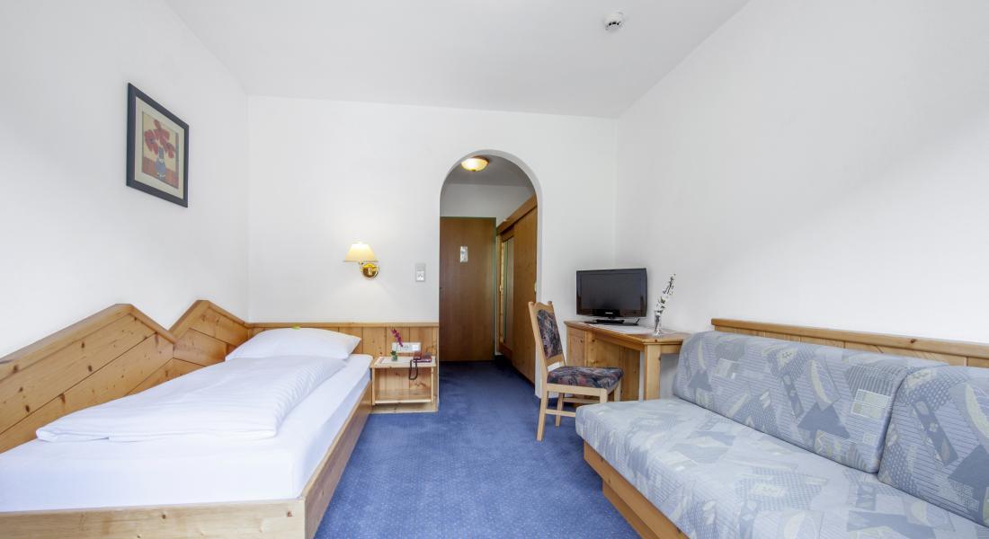 Einzelzimmer mit Zusatzbettmöglichkeit Landhotel Tirolerhof