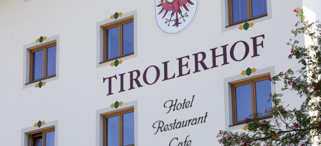 Aussenansicht Landhotel Tirolerhof